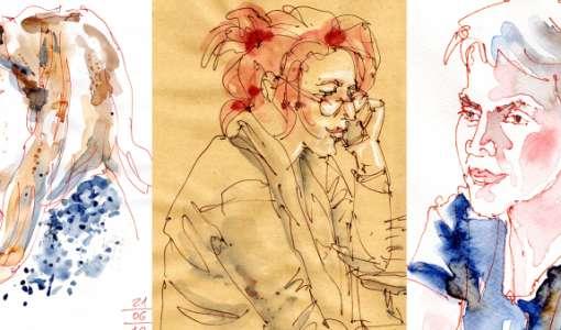 Die Kunst Menschen zu zeichnen: Gesichter, Figuren, Details