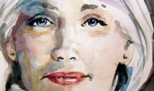Portraitmalerei in Aquarell